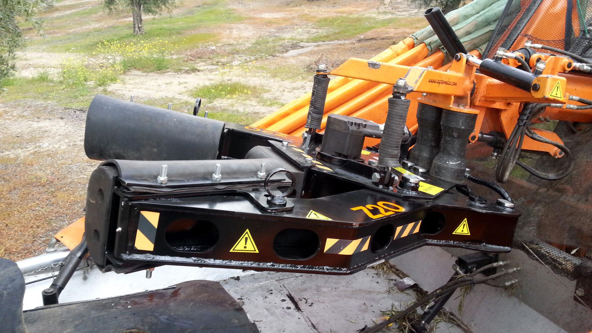 recolector trasero VTL cabezal Z20