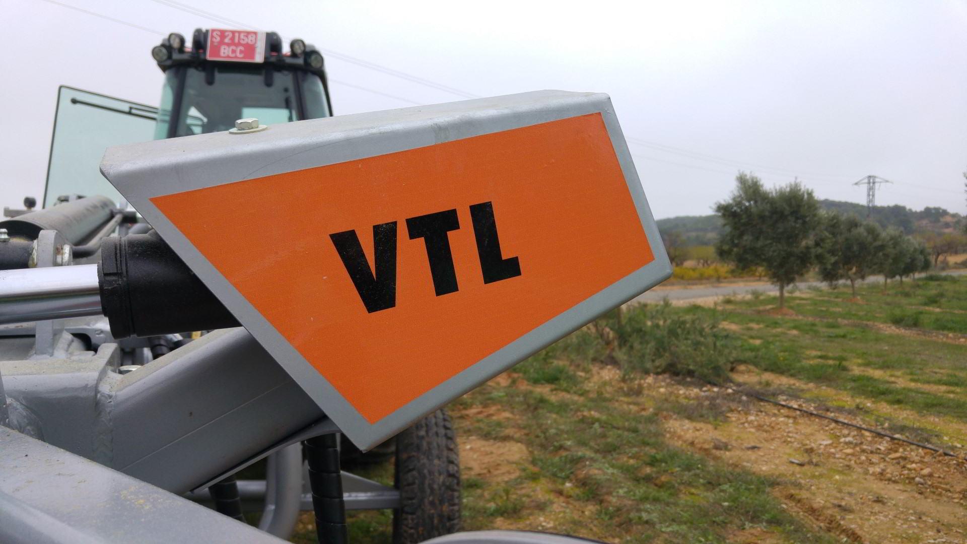 recolector vibrador trasero lateral VTL Classic