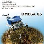 recolector de almendras, aceitunas y frutos secos de suelo omega 85