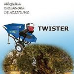 Recolector de almendras, aceitunas y frutos secos de suelo Twister