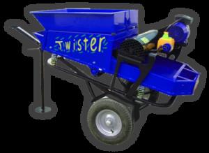 recolector de frutos secos del suelo Twister